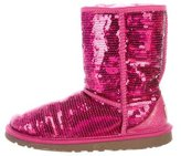 UGG Girls' Classic Short Sparkles Boots