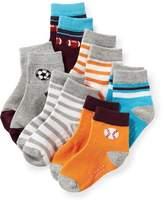 Old Navy Non-Skid Crew Socks 6-Pack for Toddler & Baby