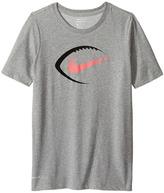 Nike Dry Football Icon Short Sleeve Tee Boy's T Shirt