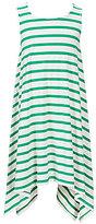 Copper Key Big Girls 7-16 Striped Sharkbite-Hem Dress