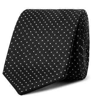 Dolce & Gabbana 6cm Pin-Dot Silk-Jacquard Tie