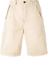 Armani Jeans logo patch cargo shorts - men - Cotton - 54