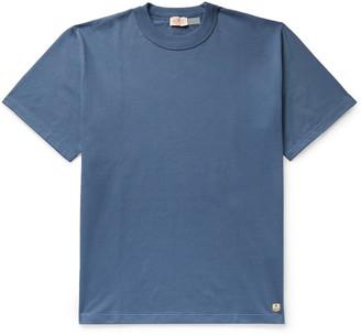 Armor Lux Cotton-Jersey T-Shirt - Men - Blue