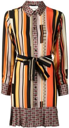 Alexis Payton striped shirt dress
