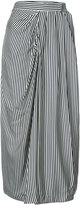 Zimmermann striped gathered skirt