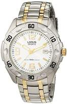 Lorus men's Quartz Watch Analogue Display and Stainless Steel Strap RG819BX-9