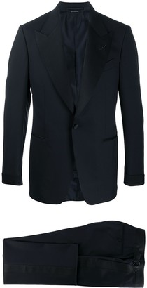 Tom Ford Satin Trim Two-Piece Dinner Suit