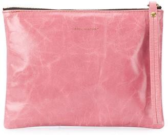 Isabel Marant Crinkle-Effect Clutch Bag