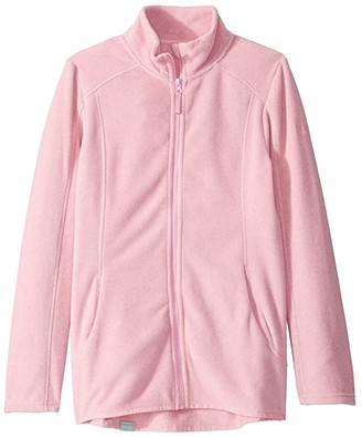 Roxy Kids Harmony Zip-Up Fleece (Big Kids) (Prism Pink) Girl's Sweatshirt