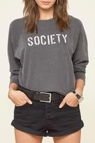 Amuse Society Stencil Fleece Sweatshirt