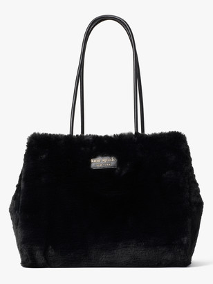 Kate Spade Everything Faux-Fur Large Tote