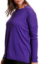 Lauren Ralph Lauren Plus Relaxed Silk-Blend Sweater