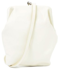 Jil Sander Two-strap Leather Cross-body Bag - Cream