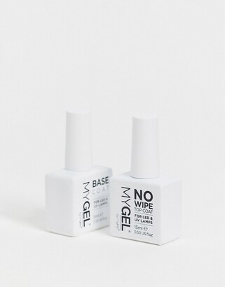 Mylee Gel Polish No Wipe Top & Base Duo