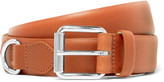 A.p.c. - 3cm Camel Fabien Leather Belt
