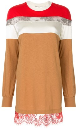 Undercover Lace Panel Jumper