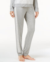 Alfani Lace Jacquard-Trimmed Pajama Pants, Created for Macy's