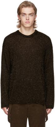 Our Legacy Khaki Sonar Round Neck Sweater