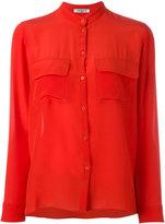 Cacharel mandarin neck shirt - women - Silk - 36