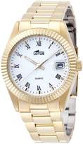 Lotus Classic 15799/1 - Date- Gold Plated - Watch New For Men's