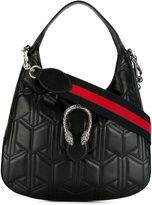 Gucci small Dionysus Web detail hobo bag - women - Leather - One Size