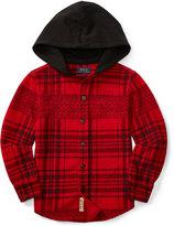 Ralph Lauren Hooded Shirt, Toddler Boys (2T-5T) & Little Boys (2-7)