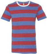 Alternative Mens Ugly Striped Crew T-Shirt