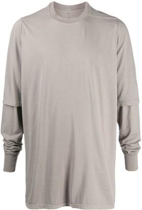 Rick Owens double sleeve T-shirt
