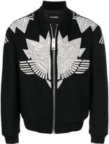 Les Hommes puffy air force jacket