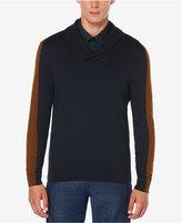 Perry Ellis Men's Jacquard Shawl-Collar Sweater
