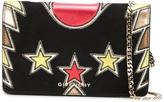 Givenchy embellished Pandora chain wallet - women - Calf Leather/Calf Suede - One Size