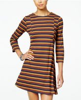 Speechless Juniors' Striped Swing Dress