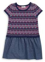Design History Toddler's & Little Girl's Printed Knit Dress