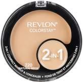 Revlon Colorstay 2-N-1 Compact Makeup and Concealer, Natural Beige, 12.3g
