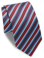 Eton Colorblock Striped Silk Tie