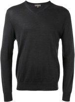 N.Peal V neck sweatshirt - men - Cashmere - S