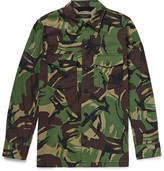 Rag & Bone Heath Camouflage-print Cotton-blend Shirt Jacket - Green