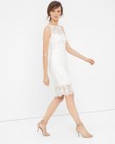 White House Black Market Lace Sheath Dress