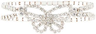 Monsoon Diamante Butterfly Stretch Bracelet