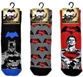 "Marvel Men's Official Batman v Superman"" 3 Pair of Socks"