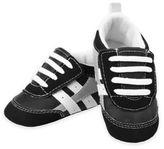 Rising Star Retro Athletic Sneaker in Black/White