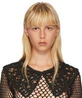 Junya Watanabe Black Lace Collar