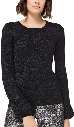 Michael Kors Wool-Blend Shirt