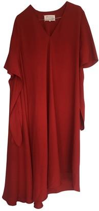 Maison Margiela Red Polyester Dresses