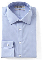 Murano Slim Fit Button-Down Collar Geo Houndstooth Dress Shirt