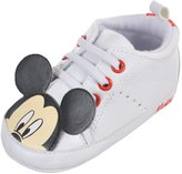 "Disney Mickey Mouse Baby Boys' ""Capped Characters"" Hi-Top Sneaker Booties"
