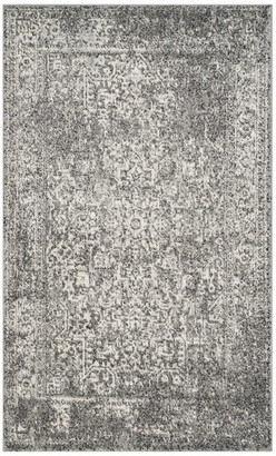 Safavieh Evoke Collection EVK256 Rug, Gray/Ivory, 3'x5'