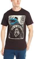 Sesame Street Men's Biker Cookie T-Shirt