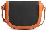 Sole Society Finnigan Faux Leather Crossbody Bag - Black