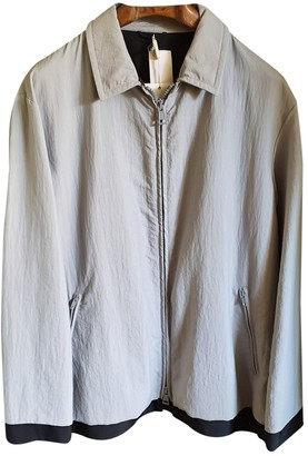 Armani Collezioni Grey Synthetic Jackets